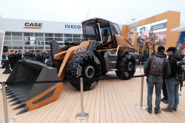 Mascus bij Bauma 2019. Project TETRA van Case Construction