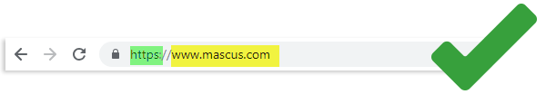 Safety Tip: Checking that the site URL is a valid one