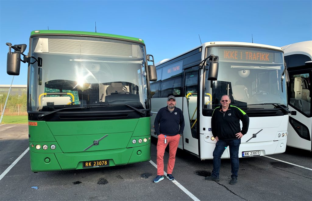 Volvo Bus Norway used buses