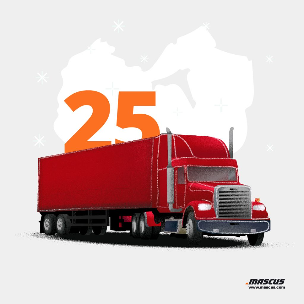 Christmas truck fun fact
